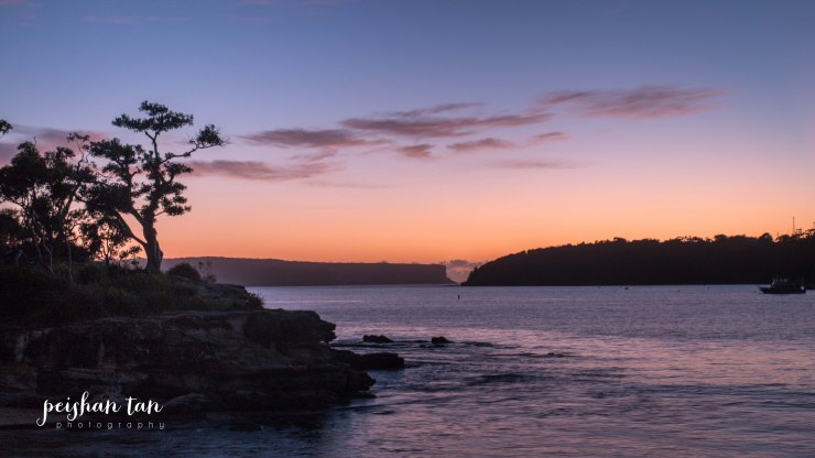 February 17 2015 Sunrise at Balmoral Beach-11