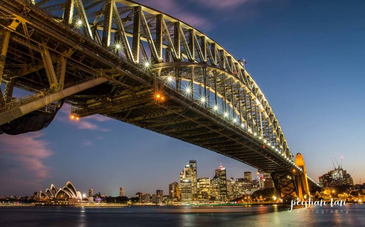Sunset at Milsons Point