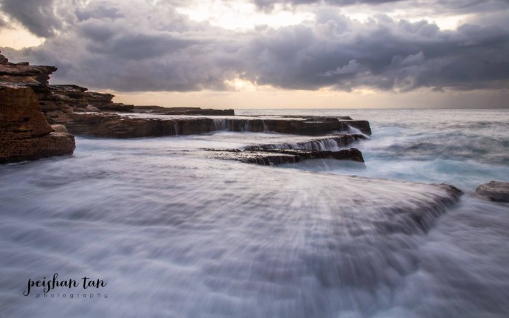 April 2015 Mahon Pool Sunrise