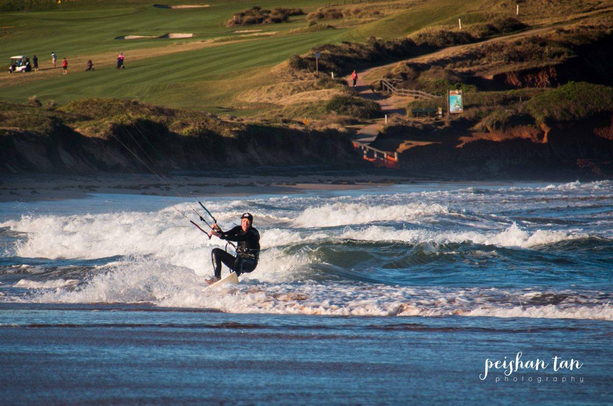 Kite Surfing Long Reef Beach-1-2