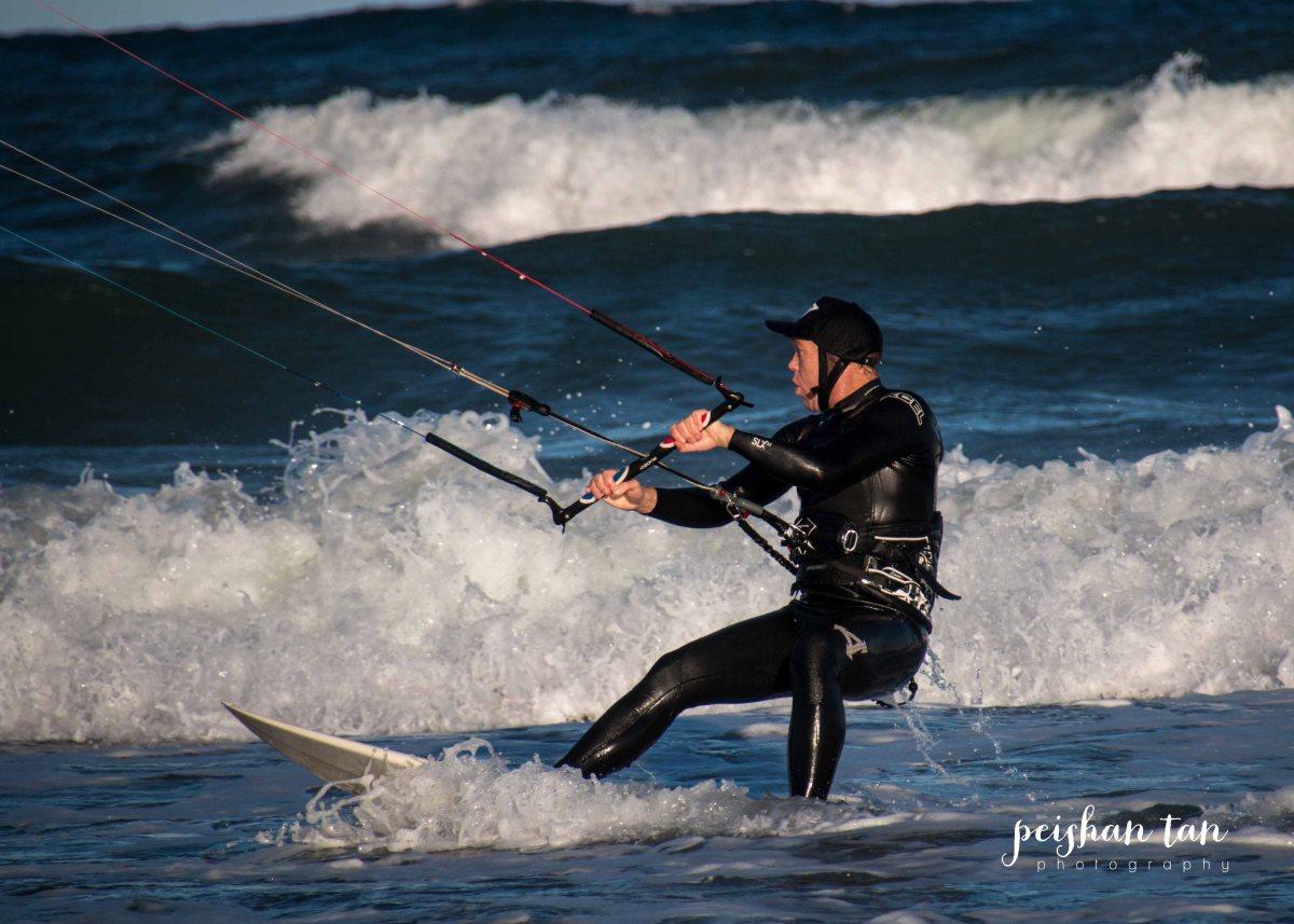Kite Surfing Long Reef Beach-1-3