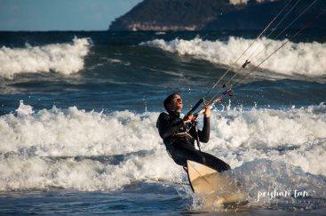 Kite Surfing Long Reef Beach-1