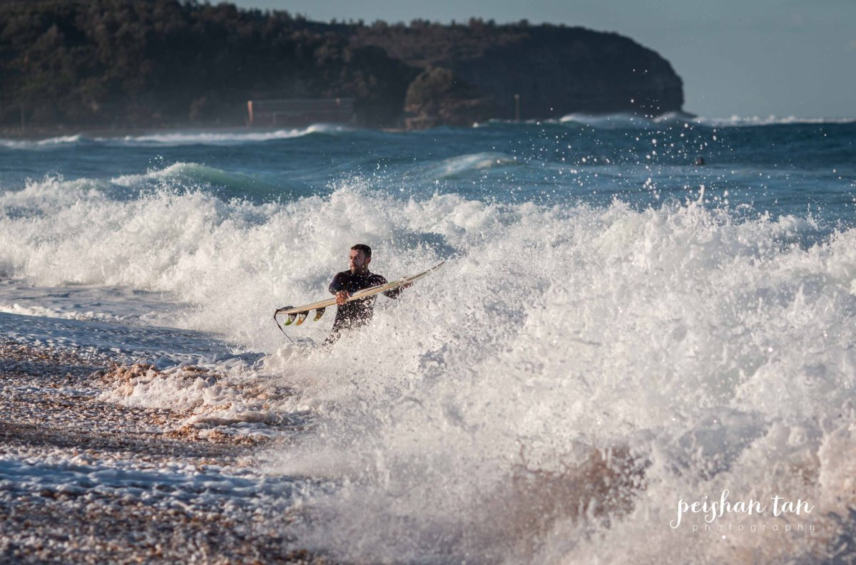 Narrabeen Beach Surfing-4