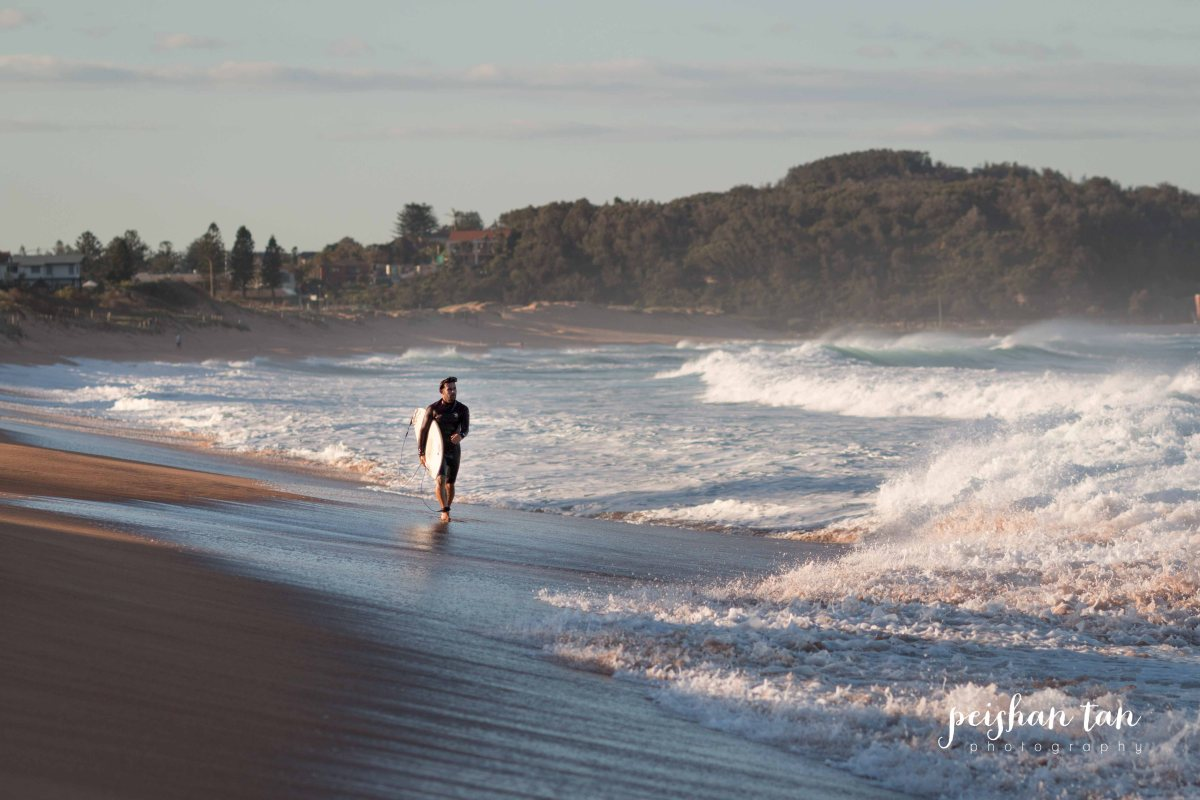 Narrabeen Beach Surfing-5