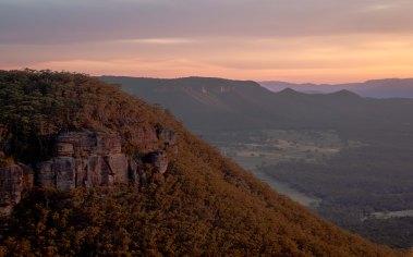 Mount Wilson Sunset