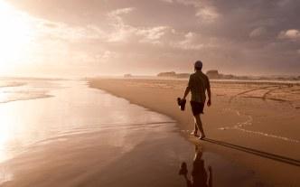 Sunset at Birubi Beach