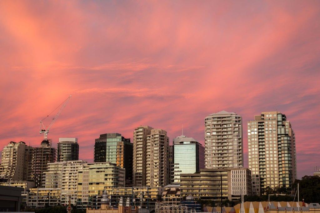 North Sydney Sunset-1