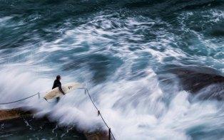 Avalon Beach Surfer