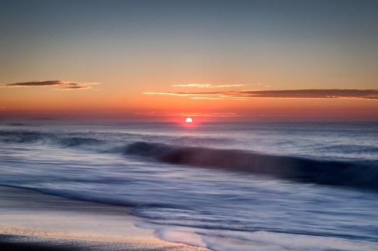 Mungo Brush beach sunrise