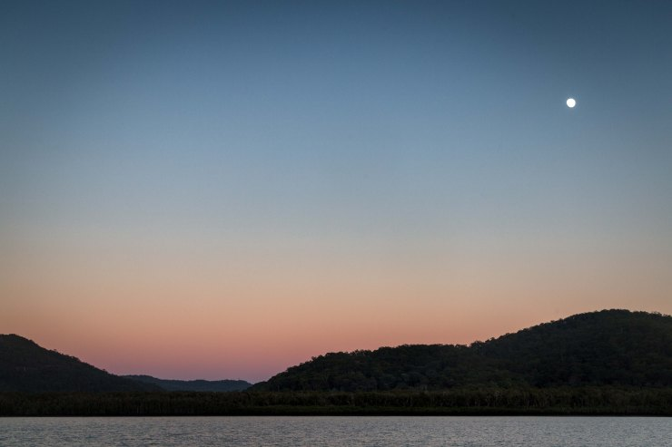 Sunrise along the Hawkesbury River