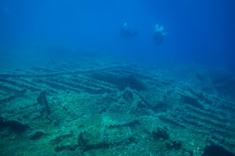 Teti Wreck - Adriatic Sea