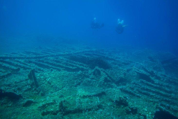 Teti Wreck - Adriatic Sea