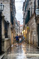 Raining in Dubrovnik