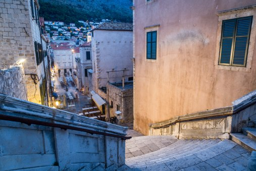 Dubrovnik - Walk of Shame Stairs Game of Thrones