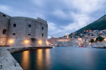 Stormy Dawn over Dubrovnik