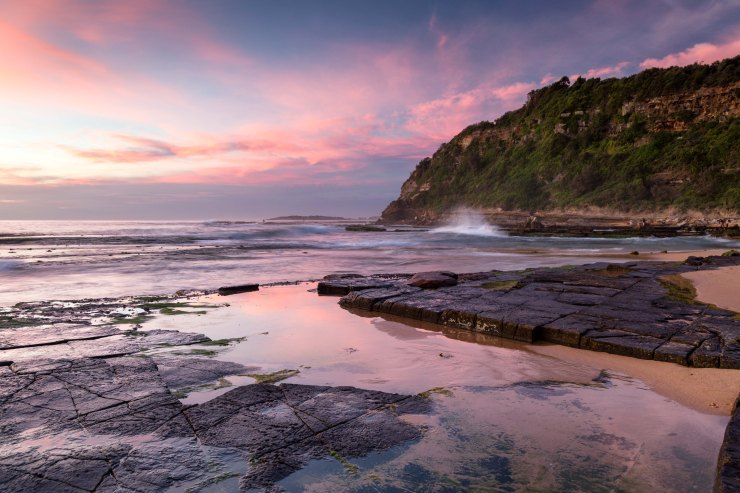 Turimetta Beach sunrise
