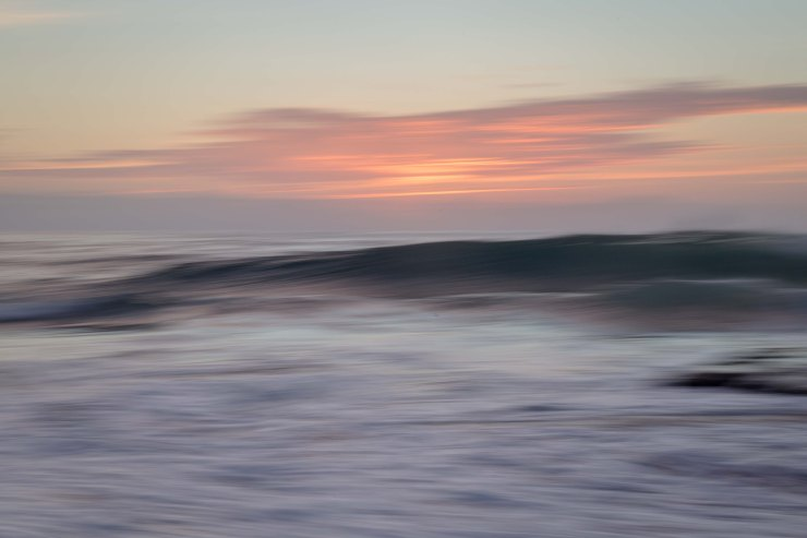 Impressionist sunrise - Turimetta Beach