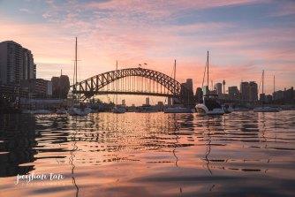 Sunrise Proposal Shoot - Sydney by Kayak