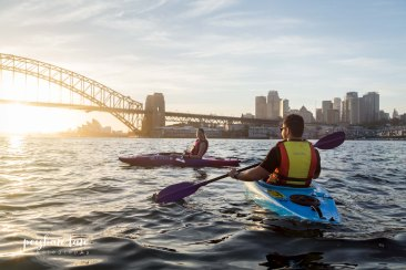 Sunrise Proposal Shoot - Sydney by Kayak