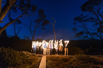 Happy new year from the Overland Track
