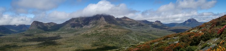 View from Pelion Gap - Overland Track (photo credit: Jeff F)