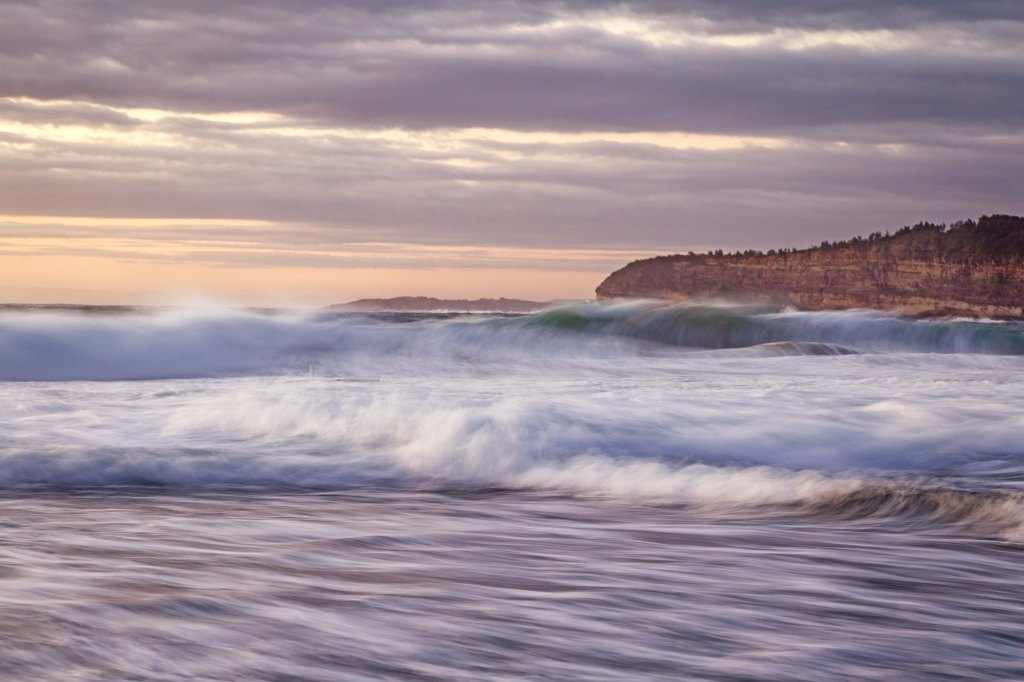 The roiling ocean - Mona Vale