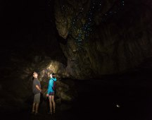 Spelunking in Waipu Caves