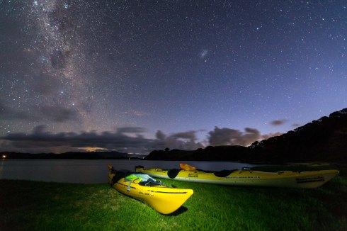 Milky Way off Urupukapuka Island