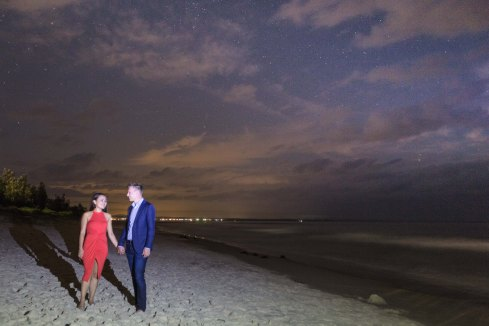 Jervis Bay Starlight Engagement