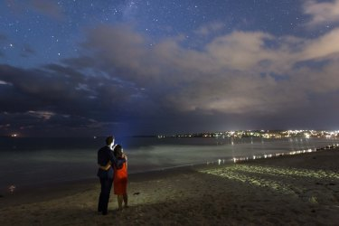 Jervis Bay Starlight Engagement