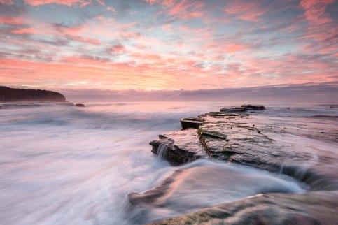 Turimetta beach sunrise