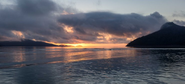 Sunrise over Catseye Beach - Hamilton Island