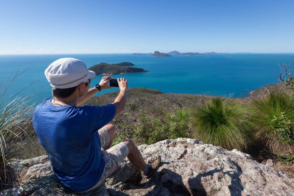 View atop Passage Peak - Hamilton Island