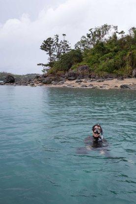 Snorkeling around Hamilton Island