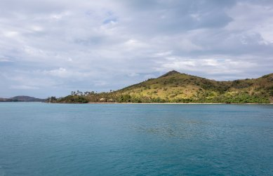 Brief rays of sunshine through the clouds - Hamilton Island