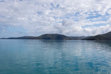 Clouds are breaking - Hamilton Island