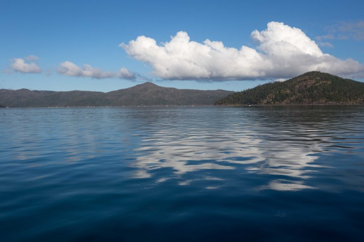 Motoring out to the Outer Great Barrier Reef