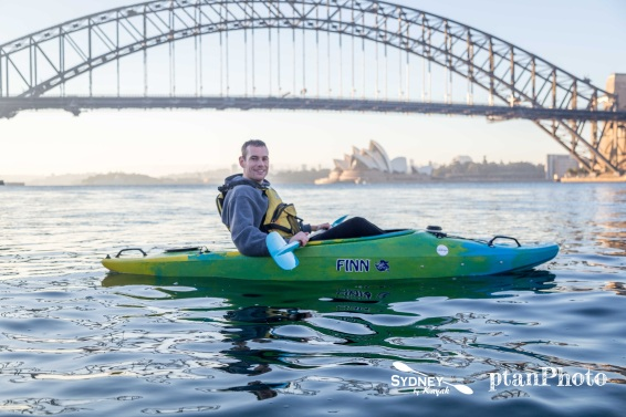 Sunrise paddle with Sydney by Kayak