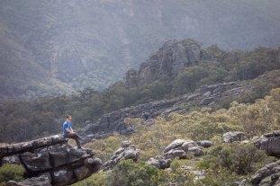 Hiking Pinnacles - Grampians