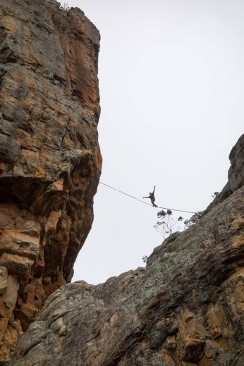 Highlining in Arapiles