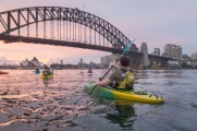 Sydney by Kayak Sunrise Paddle Nov 27 - Andrew4