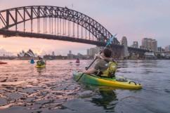 Sydney by Kayak Sunrise Paddle Nov 27 - Andrew4