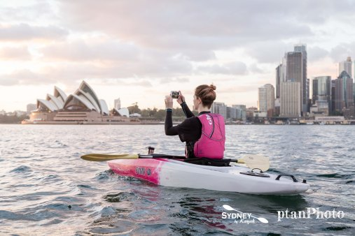 Sydney by Kayak Sunrise Paddle Oct - Nov 172