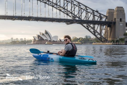 Sydney by Kayak Sunrise Paddle Dec 8 - Max3