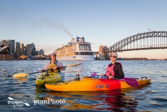 December 7 2017 Sunrise Paddle Sydney Harbour Bridge
