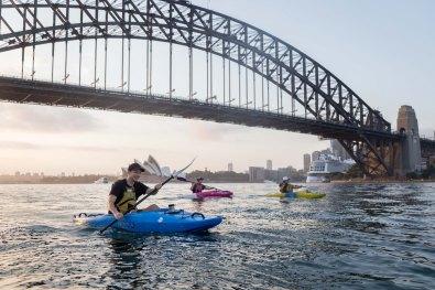 Sunrise Paddle Sydney Harbor 201810