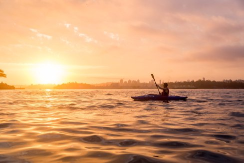 Sunrise Paddle Sydney Harbor 201811