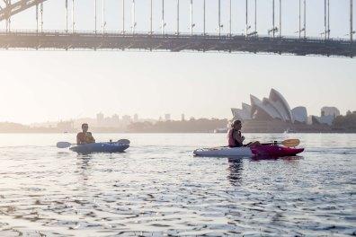 Sunrise Paddle Sydney Harbor 201812