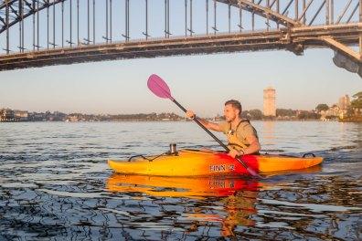 Sunrise Paddle Sydney Harbor 201813