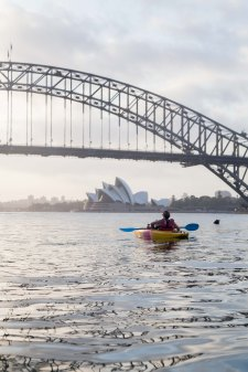 Sunrise Paddle Sydney Harbor 201814